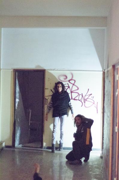 Acción Experimental III. Ocupar un espacio. Arte en acción. Tenerife, España. escena cotemporánea. arte experimental